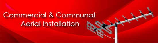 commercial & communal Aerial Installation Banner Image